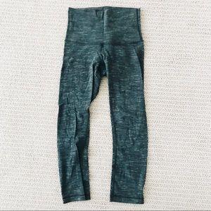 lululon army green leggings